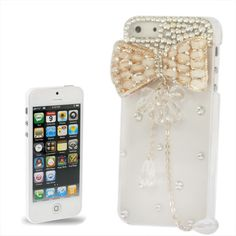 icoverlover - iPhone Cases - Diamond Series Bow Style Case for iPhone 5, $29.99 (http://www.icoverlover.com/diamond-series-bow-style-case-for-iphone-5/)