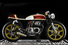 Honda CB550K Custom Lucy