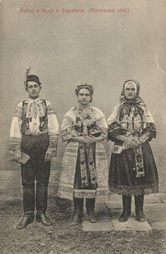Slovakia - Zahorie Folk Clothing, Heart Of Europe, Folk Dance, Romanticism, Black Forest, Eastern Europe, Vintage Photos, Character Design, Culture