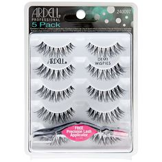 Whether you want to enhance your natural look or bring out your inner diva, Ardell Demi Wispies Lashes have you covered.