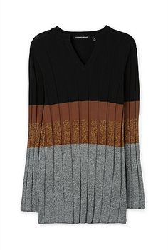 Lurex Block Stripe Tunic