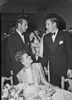 Gary Cooper and Errol Flynn (Forever Flynn) #ErrolFlynn