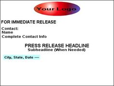 Building Blocks for a Powerful Press Release: Location and Date
