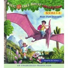 Magic Tree House Collection: Books 1-8 [Audiobook, Unabridged], (kids audiobook, childrens books, magic tree house, ages 4-8, audio book, books for boys, book series, accelerated reader, kids, already purchased)