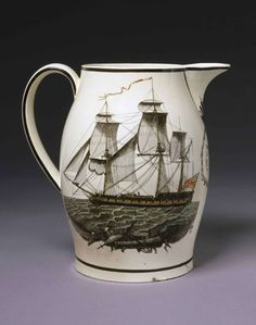 Antique English Staffordshire Milk Jug, late 18th century, Victoria and Albert Museum