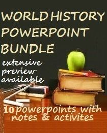 World History PowerPoint Bundle Social Studies Lesson Plans, Social Studies Classroom, History Classroom, Teaching Social Studies, Teaching History, Student Teaching, Teaching Tips, Teaching Strategies, Middle School History