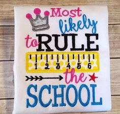Hey, I found this really awesome Etsy listing at https://www.etsy.com/listing/240196123/back-to-school-shirts-for-girls-first