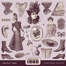 Resultado de imagen para 1900 moda