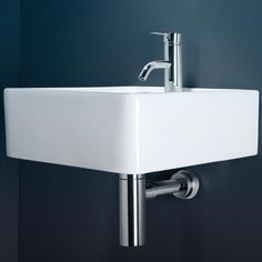 The metal bit under the mini hand basin in the downstairs toilet: Eco Chrome Bottle Trap