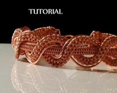 TUTORIAL Bracelet en tressage de fil par MaxxBelleCreations