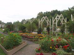 AAS Display Garden Parker F.  Scripture Botanical Gardens in Oriskany, NY