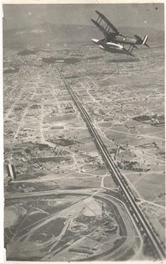 Aerial view of Sygrou avenue, Athens Greece Pictures, Time Pictures, Old Pictures, Old Photos, Vintage Photos, Athens History, Greek History, Athens Acropolis, Athens Greece