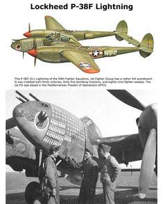 P 38 Lightening Air Fighter, Fighter Pilot, Fighter Jets, Aviation World, Aviation Art, Ww2 Aircraft, Military Aircraft, Lockheed P 38 Lightning, Military Drawings