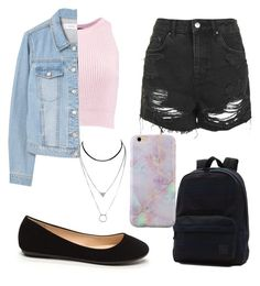 """Untitled #18"" by ssimuhina on Polyvore featuring Boohoo, MANGO, Topshop and Vans"