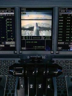 British Airways VIEW FROM THE TAIL: The flight crew observes their flight profile from an on board camera located in the aircraft's empennage . . .