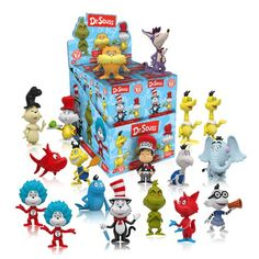 Dr. Seuss Mystery Minis Series 1 Display Case - Funko - Dr. Seuss - Mini-Figures at Entertainment Earth