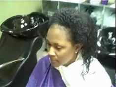 NouriTress Salon Natural Hair Thermal Press Service. Featuring NouriTress Perfect Hair Natural Hair Products. www.nouritresssalon.com