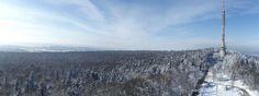 Winter in the Świętokrzyskie Mountains, Poland