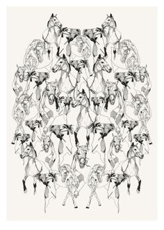 Horses by Susie Wright | East End Prints