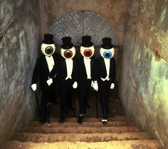 ♫♪ ♫ The Residents ♪ ♫ are famous for being anonymous. What most people know about them is nobody knows who they are.