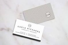 Image result for minimalist business card layouts
