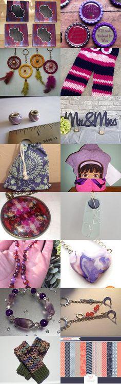 Purple Love by Effie Biliris on Etsy--Pinned+with+TreasuryPin.com