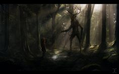 Leshy – The Witcher 3 Wild Hunt Wallpapers) – HD Desktop Wallpapers Mythological Creatures, Mythical Creatures, Russian Mythology, Tree Monster, Eslava, Creature Picture, Legends And Myths, World Of Darkness, Demonology