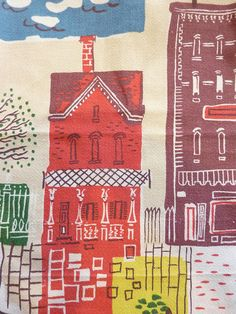 1950s house fabric, courtesy of the custards on Flickr