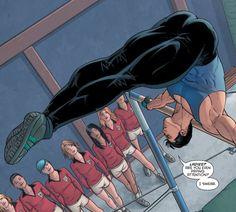 """""""I swear."""" Grayson #8."""