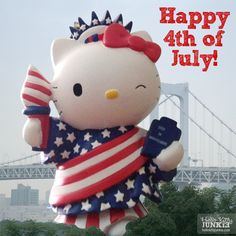Happy Independence Day from Hello Kitty Junkie