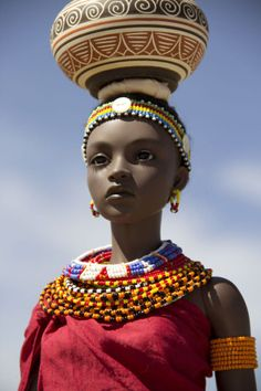 Ipehouse SID Ashanti by alveni in clothing inspired by the traditional wear of the Turkana & Samburu people. Click the link above for more pics in the dollkeeper's photo stream.