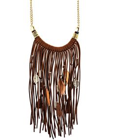"""the ideal """"go to"""" necklace for any solid color top or flowy t shirt dress"""