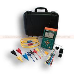 http://termometer.dk/effektanalysator-r12658/power-kvalitet-meter-med-3000a-strom-ledning-klemme-53-PQ3350-3-r12673  Power kvalitet meter med 3000A strøm ledning klemme  DataLoggingplus af individuelle og 3-phase/3-wire eller 3-phase/4-wire systemer (op til 52.428 fasede aflæsninger eller 17,476 3-fasede oplæsninger)  Fleksible clamp sonder kan bruges til at wrap omkring skinnesystemerne og tråd bundter  Stort baggrundsbelyst LCD-skærme op til 35 parametre på én skærm  Clamp-on Sand...
