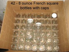 42 French Square 8 Ounce Bottles for Your Norwalk Made Cold Pressed Juices | eBay