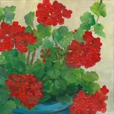 Geraniums - I'm thinking as a Mosaic.....Cindy!