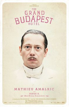 Return to the main poster page for The Grand Budapest Hotel