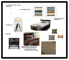 Julia has designed several rooms of her about-to-be-renovated home with us online at DIYDesigner.  Here is what she put together for her son's room.  Careful, he may never move out! Interior Design Courses, Put Together, Moving Out, Mood Boards, Entryway, Rooms, Furniture, Home Decor, Entrance
