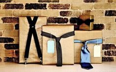 I love these gift packaging ideas for the men in your life. SO CUTE