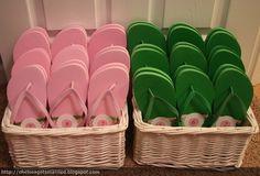beach sandal baskets