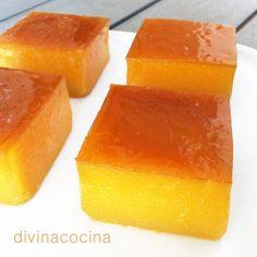 falsos-tocinillos-de-naranja-en-plato