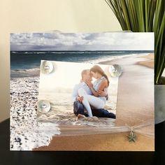 Sea Foam Beach Wedding Tropical Beachy Engagement by Frameamemory1