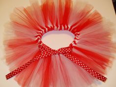 Tutus made in any team color you like!  So cute for newborn photo shoots or 1st birthday gift!