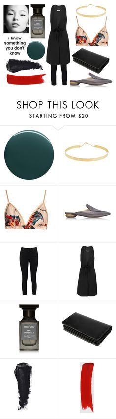 """""""Sin título #105"""" by mayra-275 on Polyvore featuring Deborah Lippmann, Lana Jewelry, Katie Eary, Nicholas Kirkwood, Boohoo, Halston Heritage, Tom Ford, ClaireChase y Gucci"""