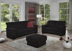 awesome black living room furniture set intended for Motivate Check more at http://bizlogodesign.com/black-living-room-furniture-set-intended-for-motivate/