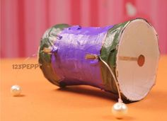 Make a Native American rattle drum