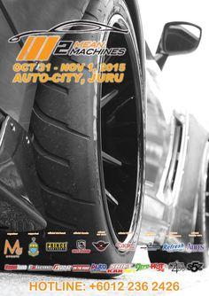 Mean Machines in Autocity Juru, Penang this October 31-November 1