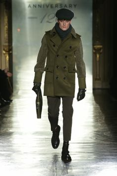 Milan Fashion Week - DAKS Fall/Winter 2014/15 - 120th Anniversary - http://olschis-world.de/  #DAKS #Menswear #FashionWeek