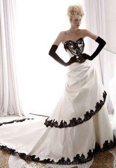 Atelier Aimée Wedding Dress Black and White Collection | Atelier Aimée | Wedding Dresses Style