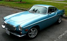 Our 1972 Volvo P1800E. Fuel-injected, 4-wheel disc brakes,  electronic overdrive and shoulder belts in the early 70's!