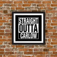 Straight Outta: Beautifully designed artworks, guaranteed to leave you inspired. Perfect for your home, office or work space. Commissions welcome.